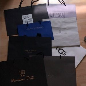(8) Various Brands of Shopping Bags